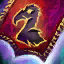 Guild Wars 2 Insigne en lin entrelacé nécrophage