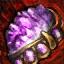 Embellished Gilded Amethyst Jewel