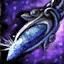 Guild Wars 2 Boucle d'oreille en platine et en saphir