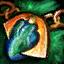 ico Azurite Orichalcum Amulet