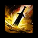 Feuriges Großschwert beschwören