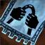 Guild Wars 2 Insigne en coton brodé solide