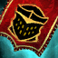 Guild Wars 2 Insigne en lin brodé chevaleresque