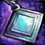 Guild Wars 2 Boucle d'oreille en platine et en opale