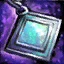 Opal Platinum Earring