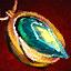 Guild Wars 2 Amulette en orichalque et en ambrite chargée